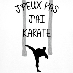 Karate / Karaté / Karatéka / Karateka / Fighter Tee shirts - Sweat-shirt à capuche Premium pour hommes