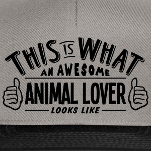 awesome animal lover looks like pro desi - Snapback Cap