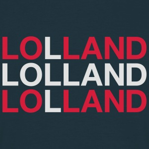LOLLAND - Herre-T-shirt