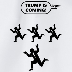 Trump Is Coming! (Challenge) Mugs & Drinkware - Drawstring Bag