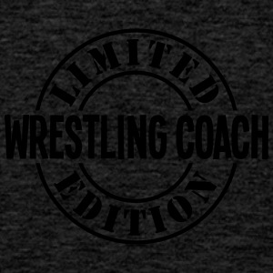 wrestling coach limited edition stamp co - Men's Premium Tank Top
