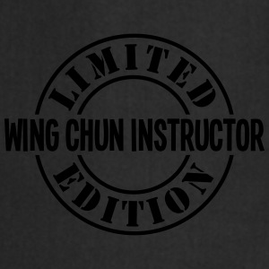 wing chun instructor limited edition sta - Cooking Apron