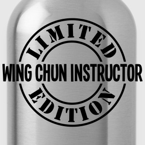 wing chun instructor limited edition sta - Water Bottle