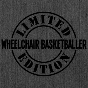 wheelchair basketballer limited edition  - Shoulder Bag made from recycled material
