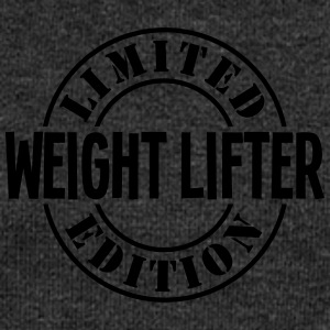 weight lifter limited edition stamp - Women's Boat Neck Long Sleeve Top