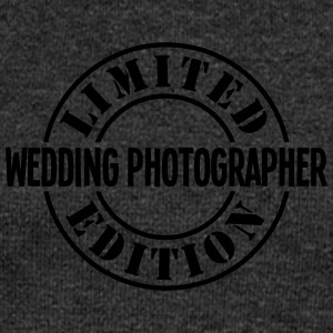 wedding photographer limited edition sta - Women's Boat Neck Long Sleeve Top