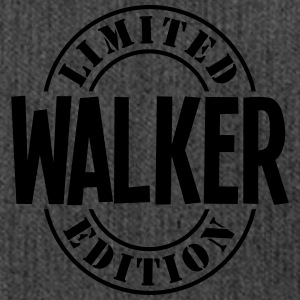 walker limited edition stamp - Shoulder Bag made from recycled material