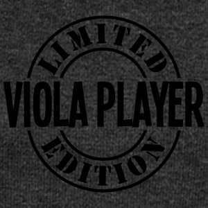 viola player limited edition stamp - Women's Boat Neck Long Sleeve Top