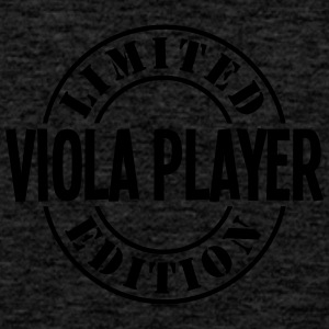 viola player limited edition stamp - Men's Premium Tank Top