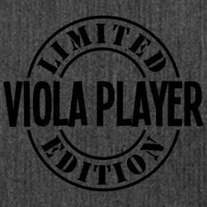 viola player limited edition stamp - Shoulder Bag made from recycled material