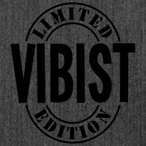 vibist limited edition stamp - Shoulder Bag made from recycled material