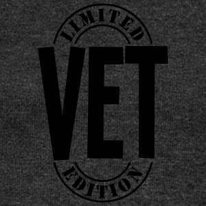 vet limited edition stamp - Women's Boat Neck Long Sleeve Top