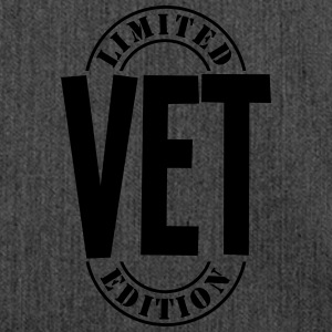 vet limited edition stamp - Shoulder Bag made from recycled material