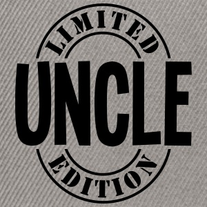 uncle limited edition stamp - Snapback Cap
