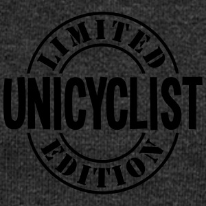 unicyclist limited edition stamp - Women's Boat Neck Long Sleeve Top