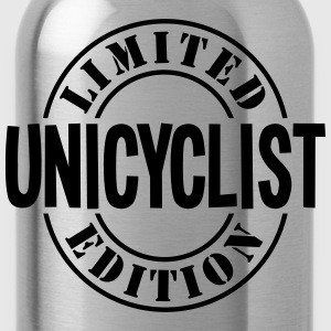 unicyclist limited edition stamp - Water Bottle
