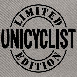 unicyclist limited edition stamp - Snapback Cap
