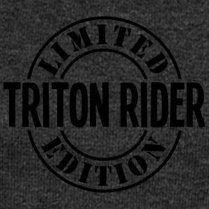 triton rider limited edition stamp - Women's Boat Neck Long Sleeve Top