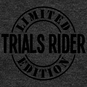 trials rider limited edition stamp - Women's Boat Neck Long Sleeve Top