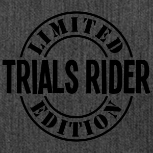 trials rider limited edition stamp - Shoulder Bag made from recycled material