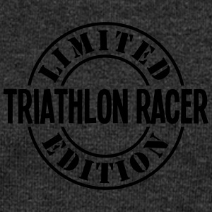 triathlon racer limited edition stamp co - Women's Boat Neck Long Sleeve Top