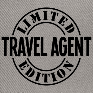 travel agent limited edition stamp - Snapback Cap