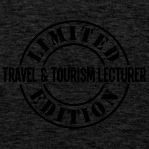 travel  tourism lecturer limited edition - Men's Premium Tank Top
