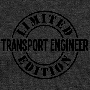 transport engineer limited edition stamp - Women's Boat Neck Long Sleeve Top