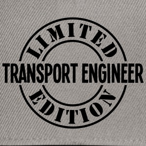 transport engineer limited edition stamp - Snapback Cap
