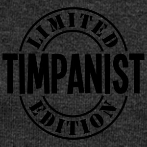 timpanist limited edition stamp - Women's Boat Neck Long Sleeve Top