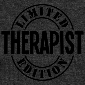 therapist limited edition stamp - Women's Boat Neck Long Sleeve Top