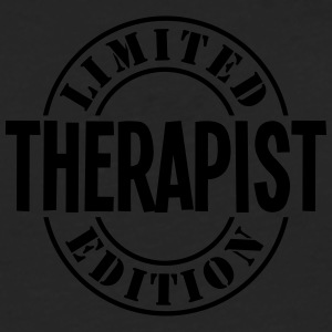 therapist limited edition stamp - Men's Premium Longsleeve Shirt