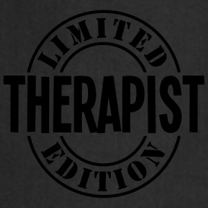 therapist limited edition stamp - Cooking Apron