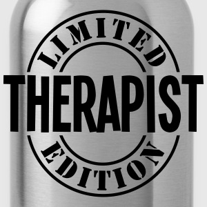 therapist limited edition stamp - Water Bottle