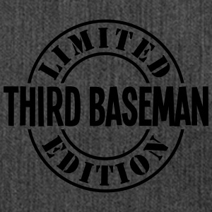 third baseman limited edition stamp - Shoulder Bag made from recycled material