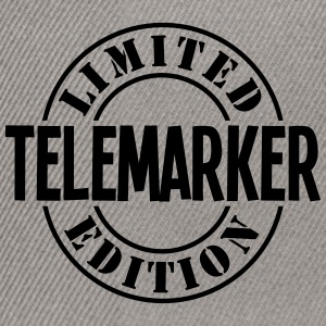 telemarker limited edition stamp - Snapback Cap