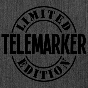 telemarker limited edition stamp - Shoulder Bag made from recycled material