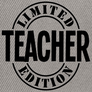 teacher limited edition stamp - Snapback Cap