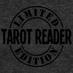 tarot reader limited edition stamp - Women's Boat Neck Long Sleeve Top