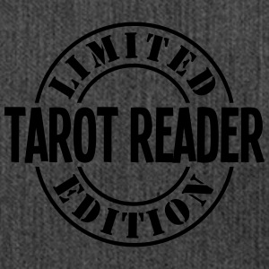 tarot reader limited edition stamp - Shoulder Bag made from recycled material