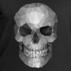 Polygons skull Mugs & Drinkware - Men's Sweatshirt by Stanley & Stella