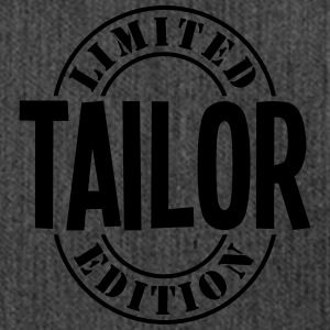 tailor limited edition stamp - Shoulder Bag made from recycled material