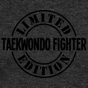 taekwondo fighter limited edition stamp  - Women's Boat Neck Long Sleeve Top