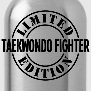 taekwondo fighter limited edition stamp  - Water Bottle