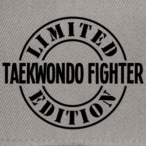 taekwondo fighter limited edition stamp  - Snapback Cap