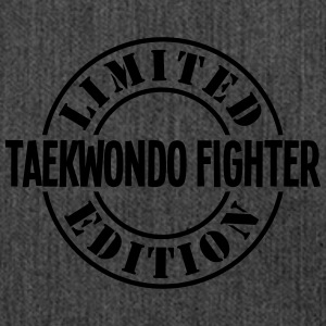 taekwondo fighter limited edition stamp  - Shoulder Bag made from recycled material
