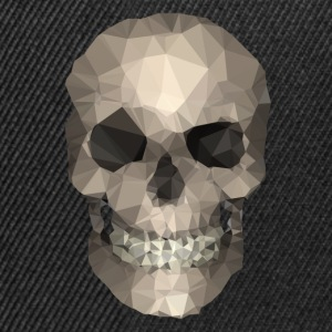 Polygons skull goldy Sweaters - Snapback cap