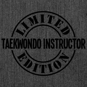 taekwondo instructor limited edition sta - Shoulder Bag made from recycled material