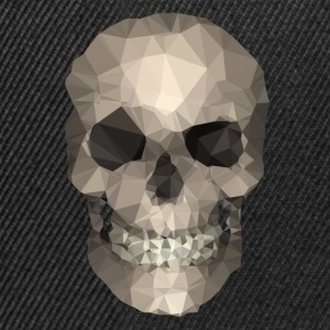 Polygons skull goldy T-shirts - Snapback cap