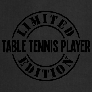 table tennis player limited edition stam - Cooking Apron